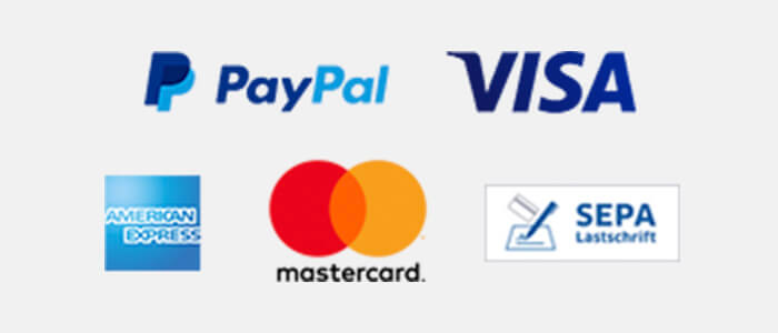 PayPal Zahlungsarten